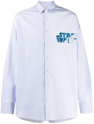 Etro Star Wars print shirt
