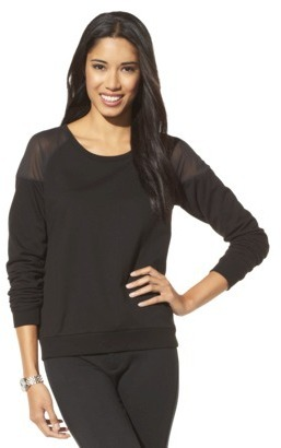 Mossimo Women's Sweatshirt -Black