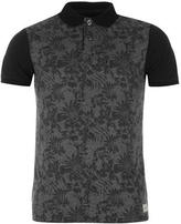 Soulcal All Over Print Floral Polo Shirt Mens