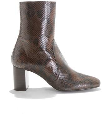 Jonak Didlaneo High-Heeled Boots in Leather