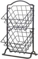 Mikasa Gourmet Basics 2 Tier Wire Hanging Basket