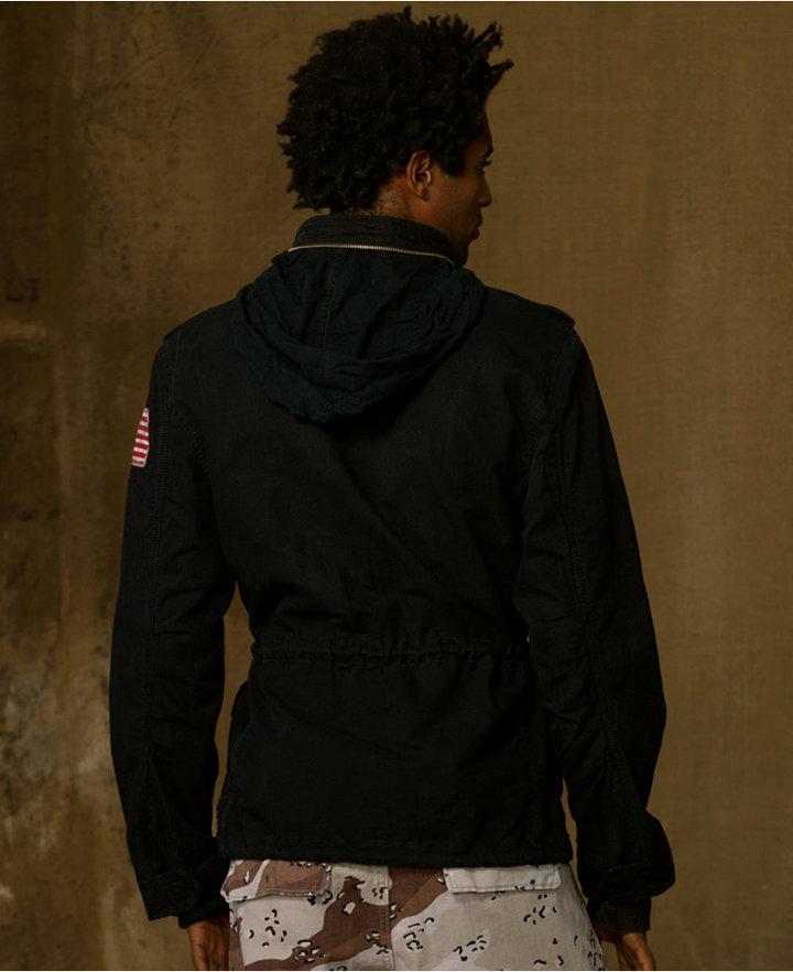 Denim & Supply Ralph Lauren Coat, Field Vintage Herringbone Jacket
