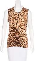 Dolce & Gabbana Sleeveless Cashmere Sweater