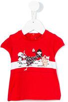 Little Marc Jacobs printed T-shirt - kids - Cotton/Modal - 6 mth