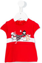 Little Marc Jacobs printed T-shirt - kids - Cotton/Modal - 9 mth