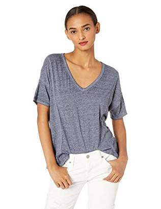 Lucky Brand Women's Seamed Burn Out TEE