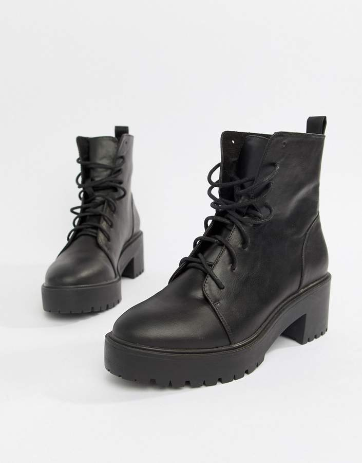 57eea4b36ddf Chunky Lace Up Boots - ShopStyle