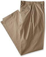 Dockers Big & Tall Signature On The Go Khaki Straight Fit Flat Front Pant