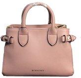 Burberry Tote Bag Handbag Medium Banner House Check PALE ORCHID Item