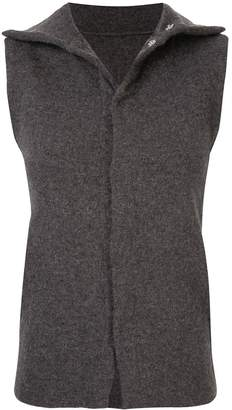 Yohji Yamamoto Pre-Owned slim sleeveless top