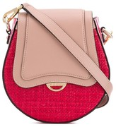Emilio Pucci colour block cross body bag