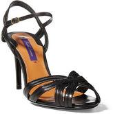 Ralph Lauren Astraia Nappa Leather Sandal