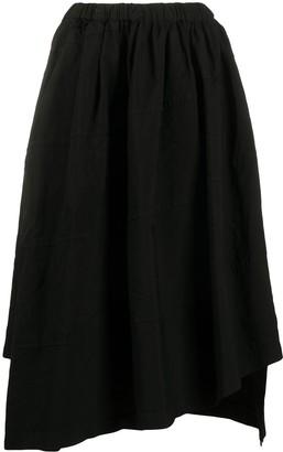 Comme des Garçons Comme des Garçons Plain Asymmetric Skirt