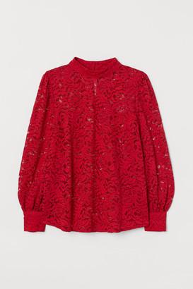 H&M H&M+ Lace blouse