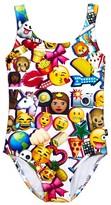 Terez Girls' Emoji Swimsuit - Little Kid, Big Kid