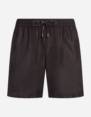 Dolce & Gabbana Mid Swimming Trunks With Pouch Bag