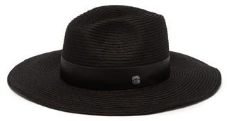 Filù Hats Filu Hats - Batu Tara Lava Papier Panama Hat - Womens - Black