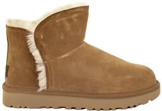 UGG Classic Fluff Mini Chestnut Boots