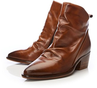 Moda In Pelle Lizbethy Tan Leather