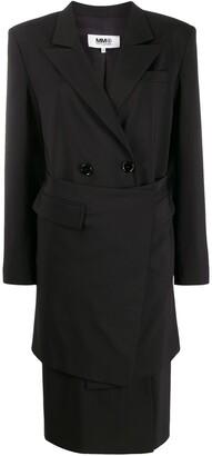 MM6 MAISON MARGIELA Double-Breasted Oversized Coat