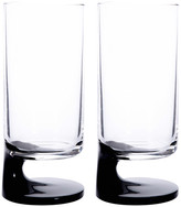 Arnolfo Di Cambio Joe Columbo Smoke Bibita Highball Glass - Set of 2 - Black