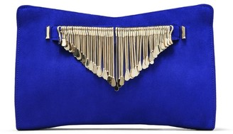Jimmy Choo Fringe Bracelet Venus Clutch Bag