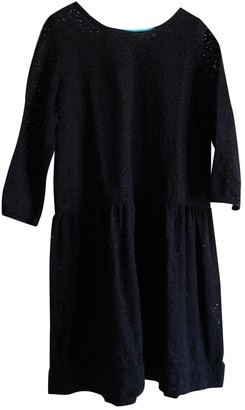 soeur Black Cotton Dresses