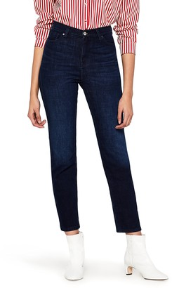 Find. Women's Straight Leg High Waist Cropped Jeans