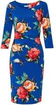 Gina Bacconi Yanina Floral Jersey Dress