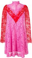 MSGM lace dress - women - Cotton/Polyamide/Polyester/Viscose - 42