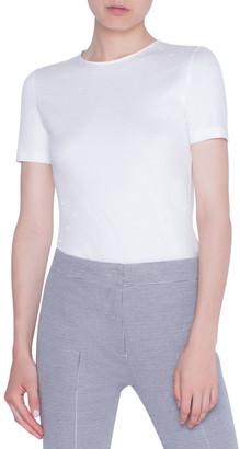 Akris Punto Stretch Cotton T-Shirt
