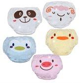 smart sisi Cute Cartoon Baby Toddler Cotton Underwear Set of 5 Pieces