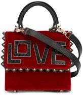 Les Petits Joueurs 'Love' crossbody bag