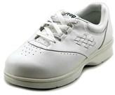 Propet Vista Walker Round Toe Leather Sneakers.