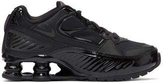 Nike Black Shox Enigma Sneakers