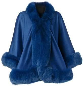 Liska cashmere flared coat
