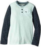 Hurley Baseball Raglan Knit Top Boy's Clothing