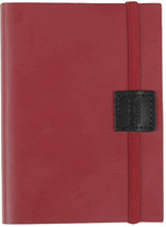 Undercover Recycled Leather Notebook - Poppy - A6 Lined
