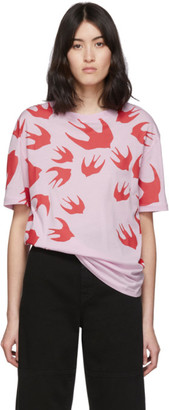McQ SSENSE Exclusive Pink Swallow T-Shirt