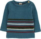 Bonton Baby Stripe Alpaca Wool Jumper