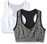 Lily of France Women's 2 Pack Reversible Sports Bra 2179801