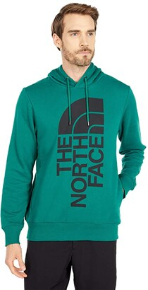 The North Face Trivert 2.0 Pullover Hoodie (Evergreen/TNF Black) Men's Clothing