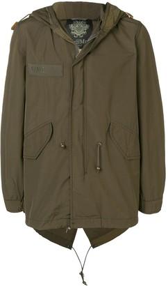 Mr & Mrs Italy pegasus embroidered parka jacket
