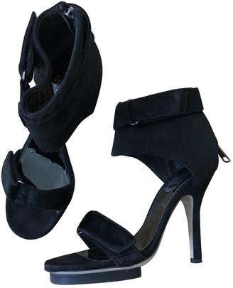 Acne Studios Black Pony-style calfskin Sandals