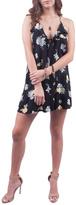 Cotton Candy Black Floral Dress