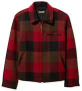 L.L. Bean Signature Wool Bomber Jacket, Check