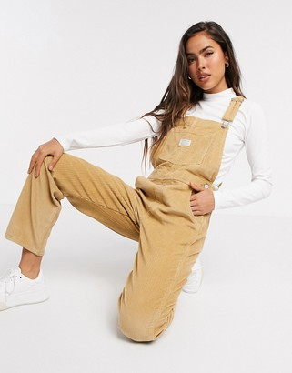 Levi's vintage overalls in iced coffee