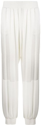 Pinko Contrast Panel Elasticated Trousers