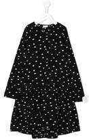 Il Gufo star print flared dress