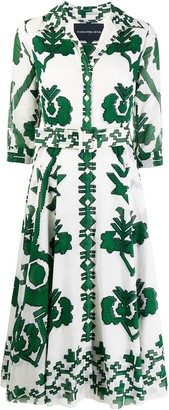 Samantha Sung Aster shirt dress